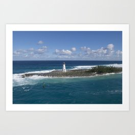 Bahamas Cruise Series 80 Art Print