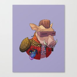 TMNT Bebop Canvas Print
