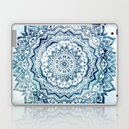 BLUE JEWEL MANDALA Laptop & iPad Skin