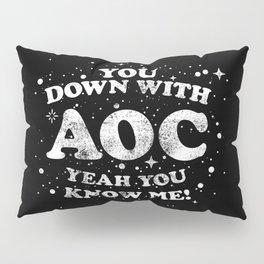 Alexandria Ocasio Cortez Supporter Gift AOC Rap / Hip Hop Design Pillow Sham