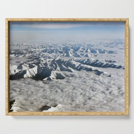Himalaya mountains - Tibet Serving Tray