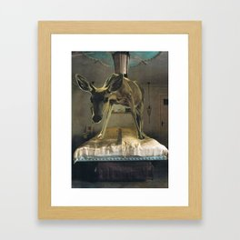 Bedroom eyes Framed Art Print