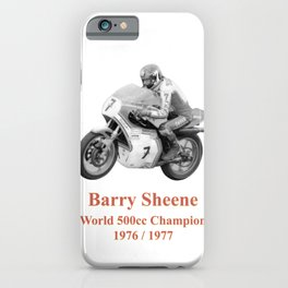 Barry Sheene iPhone Case
