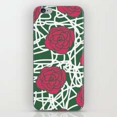 ROSE SQUIGGLE iPhone & iPod Skin