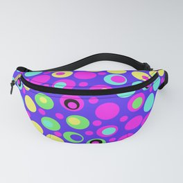 Polka Dot Party: Deluxe Brights Fanny Pack