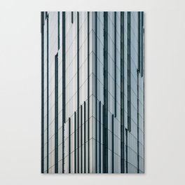 Surface Tension: Glasgow City Centre Canvas Print
