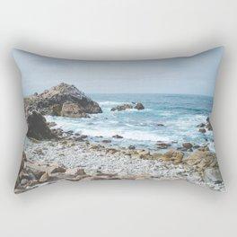 The Restless Sea - Californian Coast Rectangular Pillow