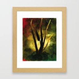 Convergency: Summer Autumn Framed Art Print