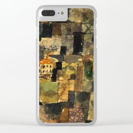 """Paul Klee """"Ausblick aus e wald (Outlook of a forest)"""" Clear iPhone Case"""