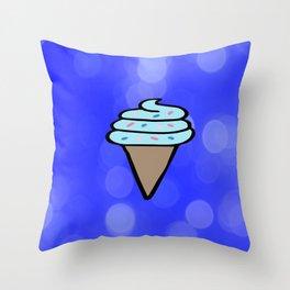 Ice Cream Sign, Ice Cream Print, Ice Cream Cone Art, Wall Art, Society6, Summer, Cute, Tropical, Throw Pillow