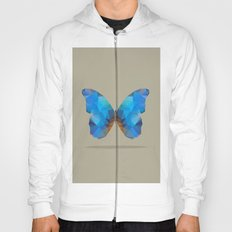 Blue Butterfly Hoody