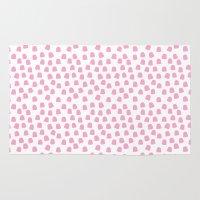 Dots Pink Rug