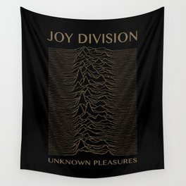 UNKNOWN PLEASURES #GOLD Wall Tapestry
