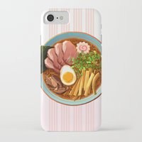 ramen iPhone & iPod Cases featuring Ramen by Tami Wicinas