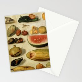 Still Life with Fruit (with Scorpion and Frog) Stationery Cards