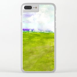 Journey No.600n by Kathy Morton Stanion Clear iPhone Case