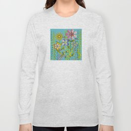 Petty Flowers Pattern 3 Long Sleeve T-shirt