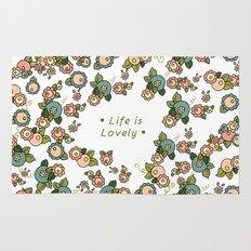 Life is Lovely Rug