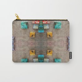 Toppled Ceramic Tiling 2 Carry-All Pouch