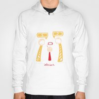 introvert Hoodies featuring Introvert by LizzyARTING