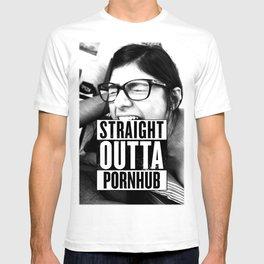 Mia Khalifa straight outta pornhub T-shirt