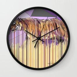 Tiger Disambiguation Wall Clock