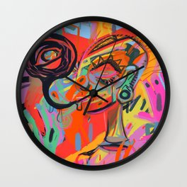 My Mind Chokes Me Wall Clock