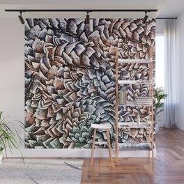 Artichokes and Pangolins Muted Wall Mural