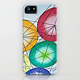 A Work in Progress - The Sacred Geometry Collection iPhone Case