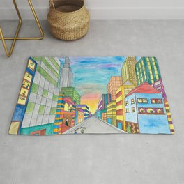 Happy City Rug