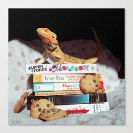 Mayli + Cookies Canvas Print