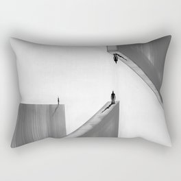 Three Point Perspective Rectangular Pillow
