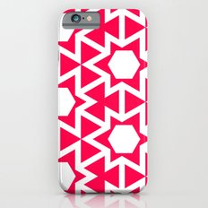 Zoutman Neon Pink Pattern iPhone 6s Slim Case