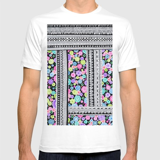 Psychedelic blanket T-shirt