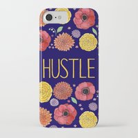 hustle iPhone & iPod Cases featuring Hustle by Yardia