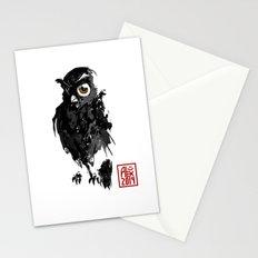 Hibou / Owl Stationery Cards