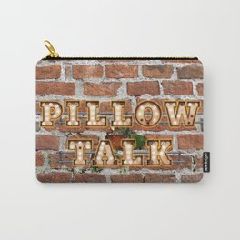 Pillow Talk - Brick Carry-All Pouch