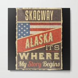 Skagway Alaska Metal Print