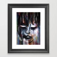 Paint a Gril Framed Art Print