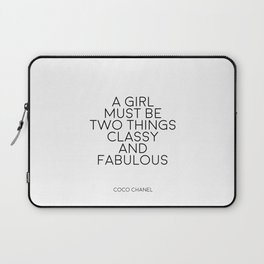 Girls Room Decor Girly Gifts Women Gift Fashion Art Fashion Print Quotes Fashion Wall Art Printable Laptop Sleeve