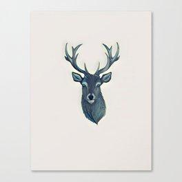 Stag - Vulpecula Canvas Print