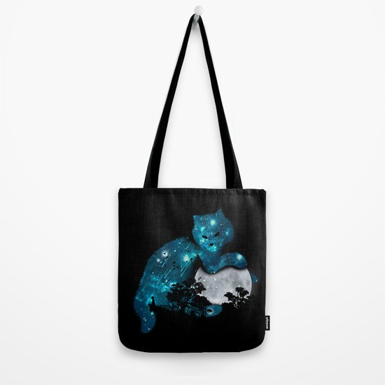 I can haz the moon Tote Bag