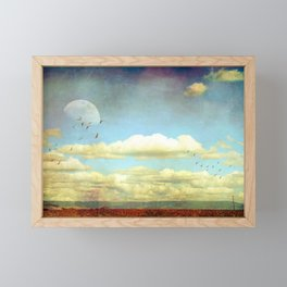 The Wide Open Road Framed Mini Art Print