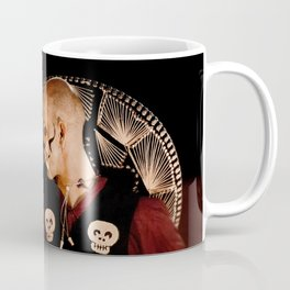 Mariachi And Fire - Dia De Los Muertos Coffee Mug
