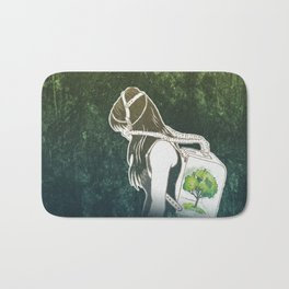 The Last Breath on Earth(SAVE THE FOREST)  Bath Mat