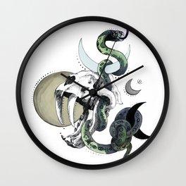 Weird friendship Wall Clock