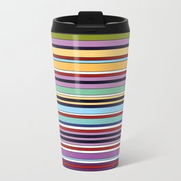 Colorful Symphony of Summer Travel Mug