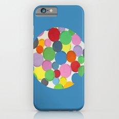 Word Bubbles Blue Slim Case iPhone 6s