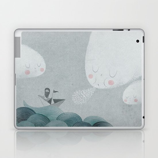Blowing by the Wind Laptop & iPad Skin