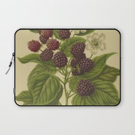 Botanical Blackberries Laptop Sleeve